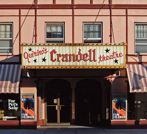 email list signup crandell theatre