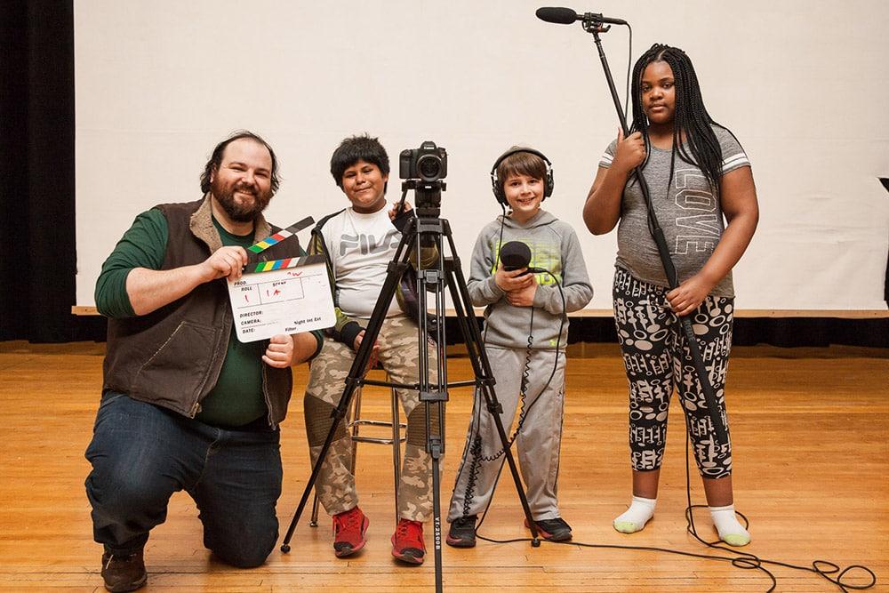Hudson After School Filmmaking