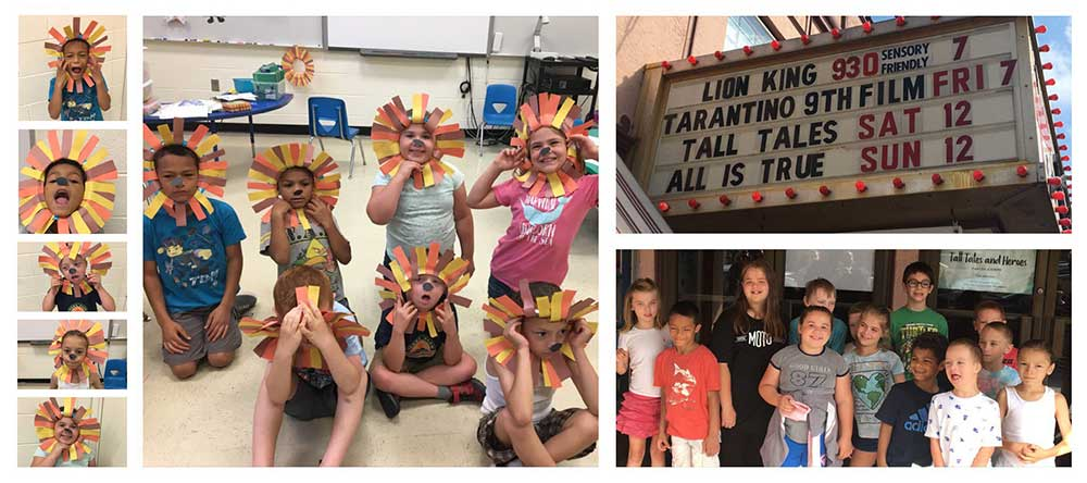 Chatham Central School's Language Concepts Summer Program has been learning about lions.