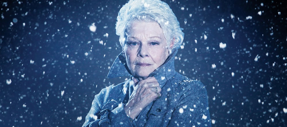 The Winters Tale movie still - Dame Judi Dench