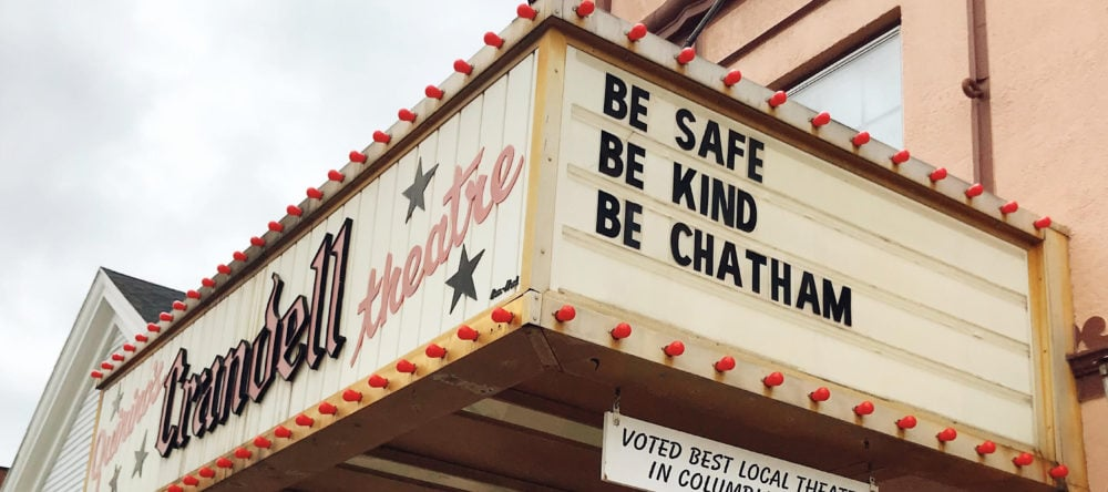 Chatham Crandell Theatre Marquee