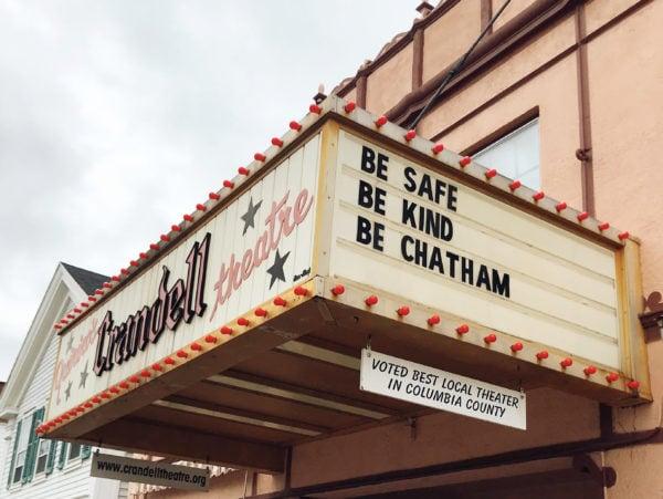 Chatham Crandell Theatre Marquee