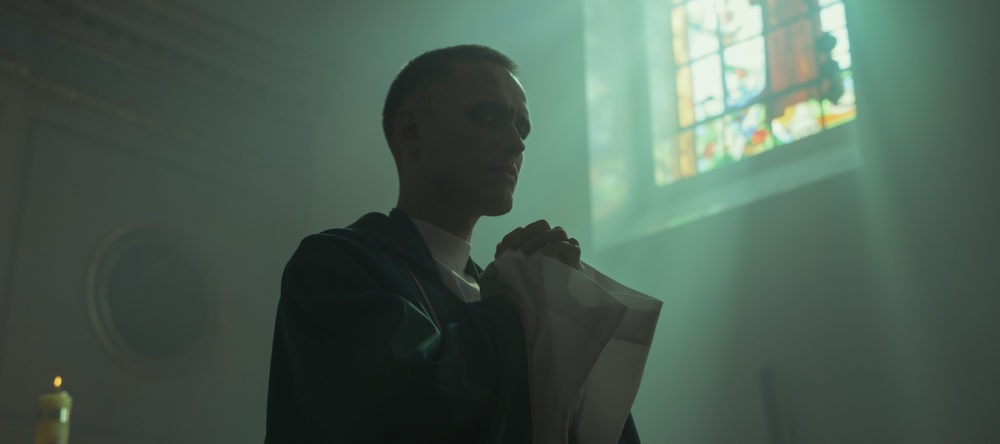 Still from Polish film Corpus Christi